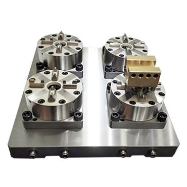 4头CNC气动卡盘(D100)